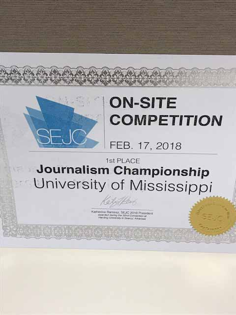 In The Best Of South Contest Some Categories Especially Newspaper Attract More Than 30 Entries Each And Awards Are Given Out